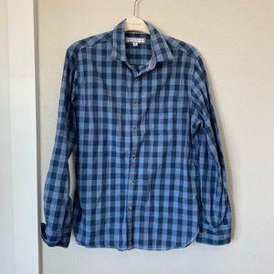 PD&C Men's Casual Button Down Shirt, size Medium